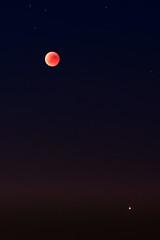 Mondfinsternis #2 (efgepe) Tags: 2018 juli mondfinsternis neuss raketenstation farbe color viveza lightroom nik himmel sterne moon stars 200mm mars