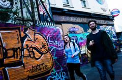 Brick Lane (gaziola) Tags: people street london graffiti