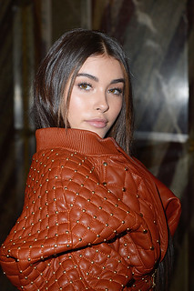 Madison Beer at Balmain Paris Fashion Week 2017
