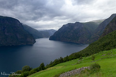 Aurland - Norway (Melvin Debono) Tags: canonflickraward aurland is municipality county sogn og fjordane south side sognefjorden traditional district norway melvin debono canon 7d travel photography ty fjord nature landscape sea sky grass lake water mountain bay river rock mountainside