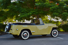 1948 Willys Jeepster (xtaros) Tags: 1948willysjeepster willys jeepster xtaros classiccar antiquecar vintage wheel rim rims chrome bright brightwork yellow trees avtomobil cotxe sakyanan auto coche autoa carr mota car automobil machin autó bíll mobil automobilis automašīna fiara motokā kereta karozza bil galimoto samochód carro mașină avto gaariga makinë ауто koloi gari kotse araba mashina imoto green red tree florida tires whitewall whitewalltires phaeton overland