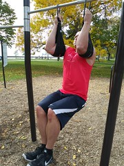 Hanging Leg Raises (personaltrainertoronto) Tags: exercise workout fitness fit athlete athletic muscle bodybuilder bodybuilding personal trainer training video hanging leg raises ab abs core