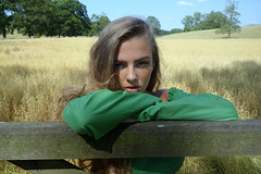 Country Life (plot19) Tags: country life love light landscape liv summer olivia daughter family fashion fasion teenager model green grass wheat fields yorkshire young plot19 photography portrait england english uk britain british