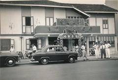 Malaysia. April 1955 (stuartjames5) Tags: malaya malaysia 1955 fordprefect anglia fordanglia
