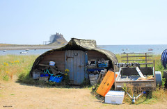 Holy Island Man Cave (mickyman13) Tags: holyislandmancave holyisland mancave holyislandfishermanshut fishermanshut holyislandfishermansshed fishing fisherman fishermen lindisfarne lindisfranecastle fort canon cannoneos60d seaside eos eos60d 60d 60deos england