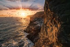 Marin Headlands V (sberkley123) Tags: ngc flickrsbest california d850 nikon marin usa sunset ocean colors marinheadlands sanfrancisco coast pacific 1424mm