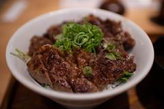 beef and rice(ステーキ丼) (Hideki Iba) Tags: food beef rice kobe japan nikon d850 35mm ステーキ丼 丼 食べ物 ご飯 肉 料理