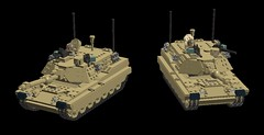 M1 Abrams Main Battle Tanks ''showcase'' (demitriusgaouette9991) Tags: lego military army ldd armored tank turret powerful deadly