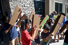 Diamond Bar Library - Solar Eclipse Activity (CEO_Countywide_Communications) Tags: select losangelescounty library solar eclipse activity 2017 sd4 diamond bar science environment children commnity diversity
