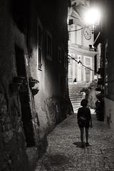 Vicoli di Artena, 2018 (Razgriz88) Tags: street strada bw bianco bianconero blackwhite biancoenero nero nikon nikonseriese35mmf25 sonya7mkii sony seriee 35mm fullframe ff notte noire notturna città a7 a7mkii grandangolo streetphotography