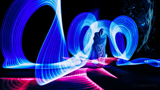 Ghost LightPainting - DSC9449 16x9 wallpaper