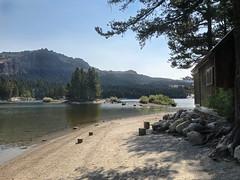 Silver Lake (skipmoore) Tags: sierra eldoradocounty silverlake cabin shore beach