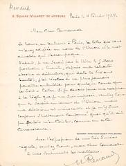 RENAUD, Maurice, Paris, 04/02/1927 (Operabilia) Tags: claudepascalperna goldenage opera lirica autographe autograph operabilia dominiquejpréaux dominiquepréaux opéradeparis opéracomique paris baritone mauricerenaud