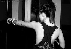 Chelsea9048me (sensualimages) Tags: sensualimagesphotography sensual blackandwhite monochrome boxing boxer woman girl beautiful gym brunette
