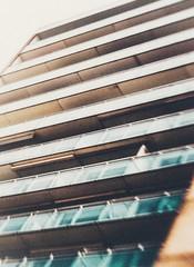 Haus (Kai Rennert) Tags: building modern architecture architektur city urban fenster hochhaus zandvoort lensbaby composer blur alternative grain haus windows balkon