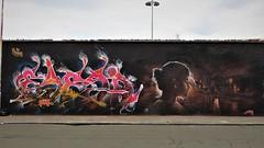 EyesB & Iota / Berchem - 12 aug 2018 (Ferdinand 'Ferre' Feys) Tags: antwerpen anvers antwerp belgium belgique belgië streetart artdelarue graffitiart graffiti graff urbanart urbanarte arteurbano ferdinandfeys iota eyesb