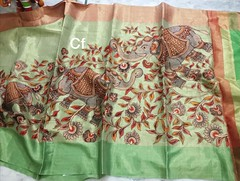 Banaras Sarees | Banaras pure Handloom jute weaving tissue with digital print Aplick work, saree color blouse | CF Brand | City Fashions (shivainemail_2212) Tags: banaras sarees | pure handloom jute weaving tissue with digital print aplick work saree color blouse cf brand city fashions