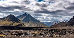 A sunny August morning in paradis (olafur gudmundsson) Tags: iceland nort mountain fjallabak nordic