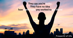 Success and life achievement concept. (ProsperityofLifeAZ) Tags: success successful life winner woman great boss achievement arms business goalsetting concept happiness stressfree freedom people worker female idea building lifestyle excited emotion stockmarketpeople executive direction city colorful champ person king businesswoman sunset professional sky looking global celebrating background back work raised silhouette manager victory meditation confident hand happy exchange