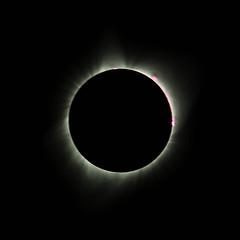 'The Great American Solar Eclipse' - Aug 21, 2017, Rigby, Idaho, (Jun C Photography) Tags: greatamericaneclipse em5 microfourthirds omd eclipse astrophotography idaho sandiego planet mercury u43 totality sun 2017 olympus solar rigby mft mk2 prominence prominences markii mkii corona solareclipse