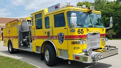 Engine 65 (Central Ohio Emergency Response) Tags: pike township indiana indianapolis marion county fire department truck pierce engine pumper arrow