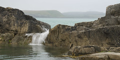 Breaking (andy_grundy) Tags: wales pool landscape anglesey cemaes pentaxk5 splash rocks seascape water coast mist sea