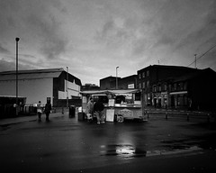 Fast Food (JEFF CARR IMAGES) Tags: northwestengland towncentres winterweather urbanlandscapes rain