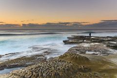 Capturing the High Seas (Merrillie) Tags: daybreak theskillion photographer nature water terrigal nsw rocky sea clouds newsouthwales rocks earlymorning morning landscape centralcoast ocean australia sunrise waterscape coastal outdoors sky seascape dawn coast cloudy waves