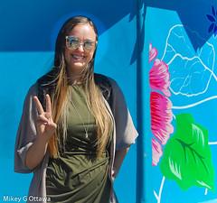 Thanks Angel - Ottawa 06 18 (Mikey G Ottawa) Tags: mikeygottawa canada ontario ottawa street city people peace angel spotfilter edgefilter lightroom