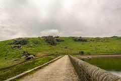 _DSC.0021 - Dam wall, Widdop Reservoir (SWJuk) Tags: swjuk uk unitedkingdom gb britain england yorkshire westyorkshire calderdale widdop widdopreservoir damwall cludderslack rocks hills hillside moors moorland sky clouds greysky 2018 jun2018 nikon d7100 nikond7100 18300mm rawnef lightroomclassiccc landscape countryside scenery