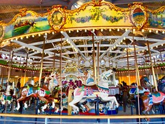 B&B Carousell ~  Watch: (& view 'L') (Shein Die) Tags: bbcarousell coneyisland nyc brooklyn merrygoround lunapark ride beach newyork newyorkcity