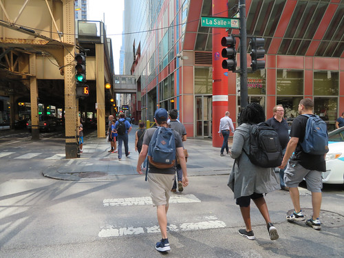A Pack of Chicago Urban Backpackers