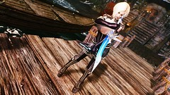 Nalonia Graymoon (XMymy007X) Tags: skyrim enb tesv lady sexy heels sword