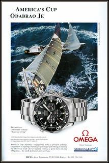 6696 PhotoWatchSat Omega More Magazin za plovidbu i plovila DICTA d.o.o.Trpimirova 2/VII Rijeka  year 2003.