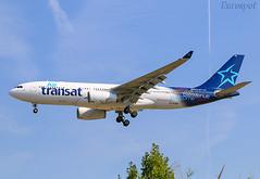 C-GJDA Airbus A330 Air Transat (@Eurospot) Tags: cgjda airbus a330 airtransat a330200 barcelone bcn lebl