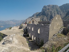 Fortress of St. John in Kotor, Montenegro (Craigs Travels) Tags: castleofsangiovanni tvrdavasvetiivan kotor montenegro bayofkotor castle fortress ruins
