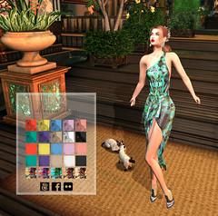 LuceMia - JUMO (2018 SAFAS AWARD WINNER - Favorite Blogger - MISS ) Tags: senseevent jumo hair dress athena kroes adornement sl secondlife mesh fashion creations blog beauty hud colors models lucemia