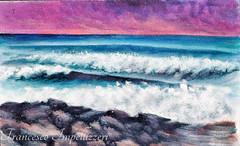 Waves---Alberto Asta (Francesco Impellizzeri) Tags: trapani sicilia painting alberto asta