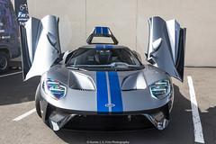 Nice Spec (Hunter J. G. Frim Photography) Tags: supercar colorado 2017 ford gt american gray silver stripes v6 turbo fordgt 2017fordgt hypercar