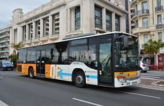 Nice, Promenade des Anglais 12.01.2018 (The STB) Tags: bus autobus autobús busse publictransport citytransport öpnv transportpublic transportpublique