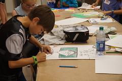Doodles & Drawings, 2018.6 (Center for Creative Connections) Tags: dma dallasmuseumofart artmaking doodles drawing summercamp summer camp kids creativity tweens fun