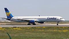 Boeing 757 -330 CONDOR D-ABOI 29018 Francfort mai 2018 (Thibaud.S.) Tags: boeing 757 330 condor daboi 29018 francfort mai 2018