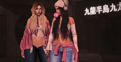Kowloon ♫ (Selena Paine) Tags: secondlife catwa blueberry pseudo maitreya girl blogger blog fashionblog navyandcopper pumec