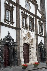 Portalwand (grasso.gino) Tags: azoren acores sãomiguel pontadelgada nikon d5200 kirche church sãosebastião tor portal doorway