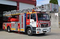 Bomberos Consorcio de A Coruña (emergenciases) Tags: emergencias españa 112 galicia acoruña barbanza riveira bomberos bomberosconsorciodeacoruña man aea autoescala 32metros metz camión truck