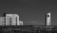 (Kijkdan) Tags: rotterdam architecture blackandwhite monochrome city urban