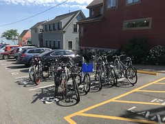 2018 AFTER - Johnson St (rikahlberg) Tags: provincetown bike rack cape cod commission community preservation act public fixation saris corral bicycle capecod cpa