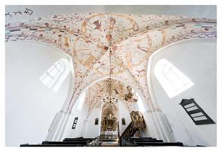 Elmelunde church, frescoes