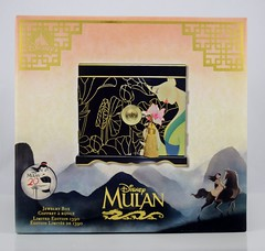 Mulan 20th Anniversary Jewelry Box - Limited Edition - Disney Store Purchase - Boxed - Front View (drj1828) Tags: mulan 20thanniversary jewelry box wood limitededition le1390 disneystore us shopdisney productinformation purchase boxed