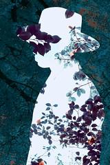 Man nature (https://tinyurl.com/jsebouvi) Tags: profil nature feuille leaf tree arbre décoration profilemanandnature natural leaves jsebouvi top doubleexposure hat man forest pattern blue green brown